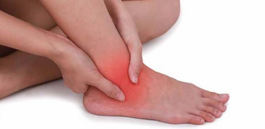 dureri de gleznă la mersul tratamentului durere arzătoare în articulațiile picioarelor