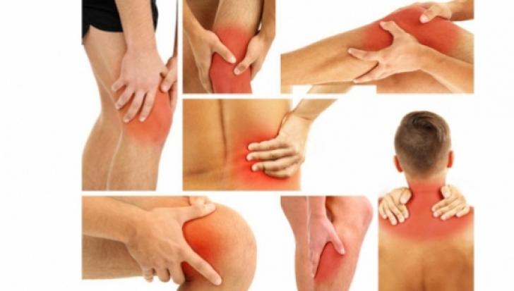 dureri articulare o dată pe lună