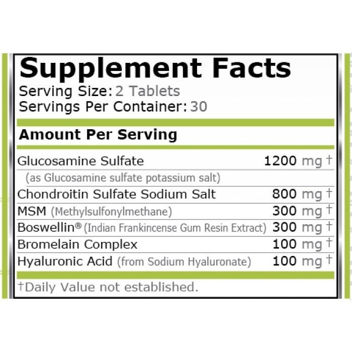 din ce sunt formate glucozamina și condroitina