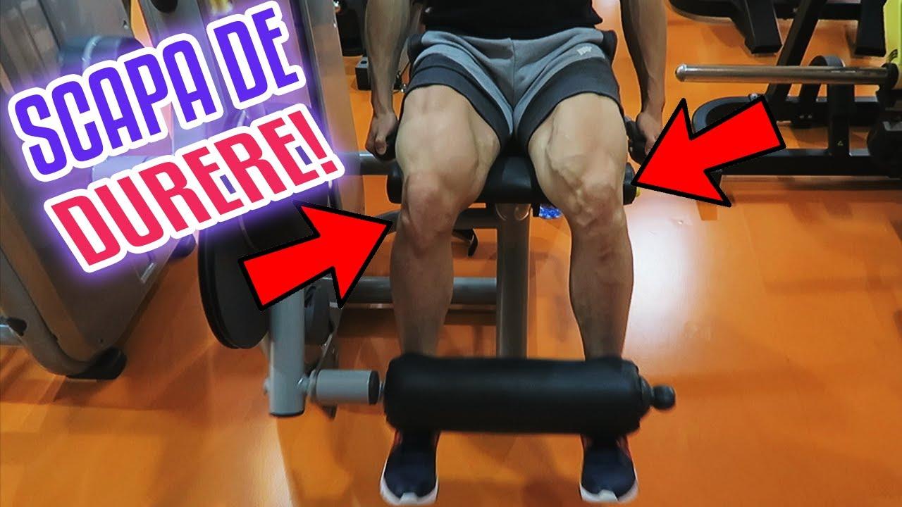 dureri la genunchi și sport