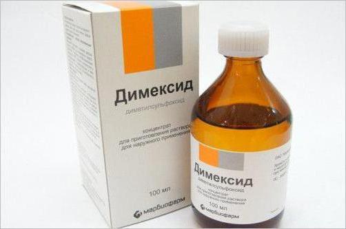 inflamația articulară cu dimexid