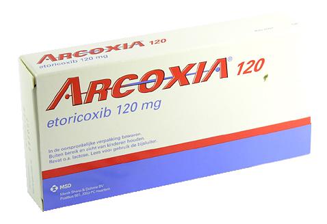 Arcoxia 60 mg, comprimate filmate - Prospect Medicament - Indicatii, Administrare, Reactii adverse