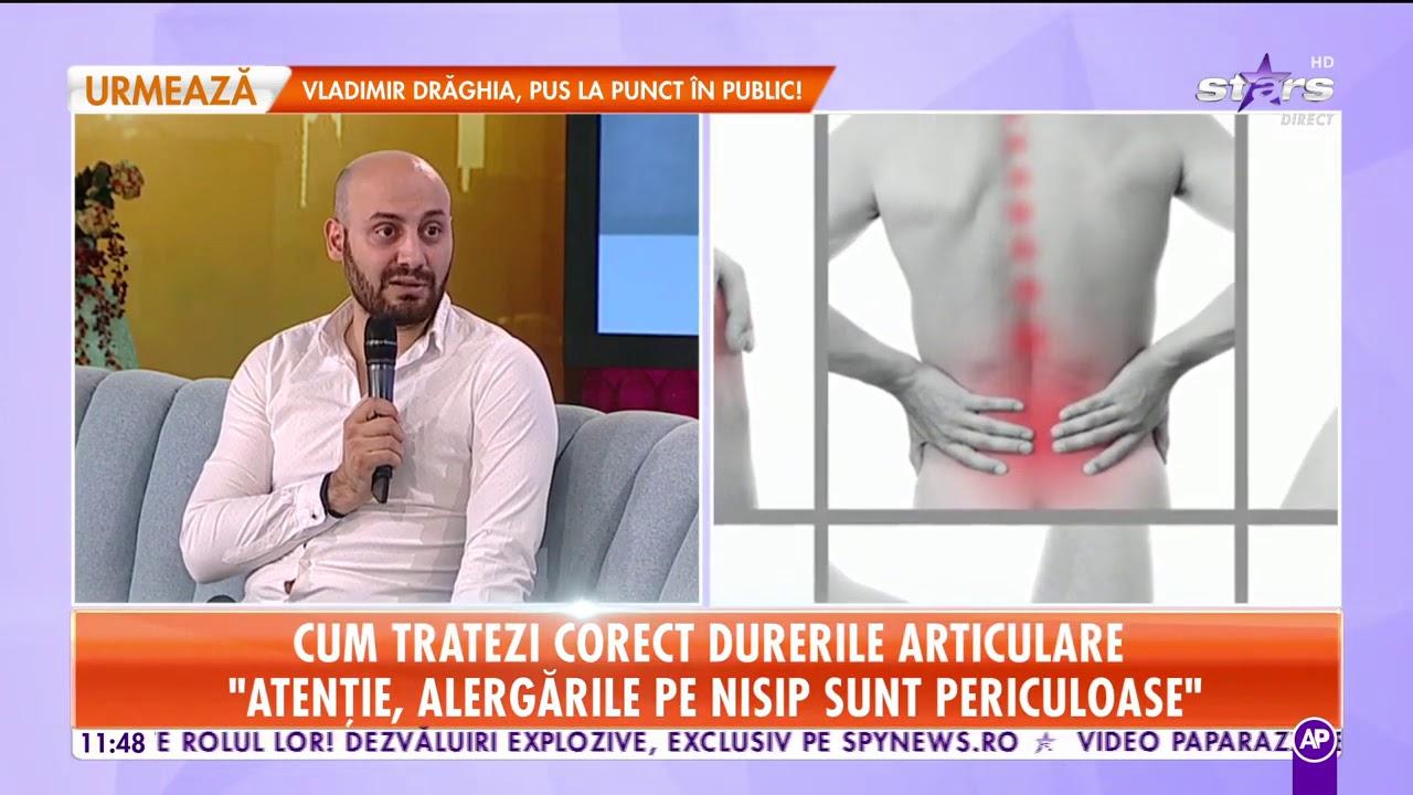 video despre durerile articulare