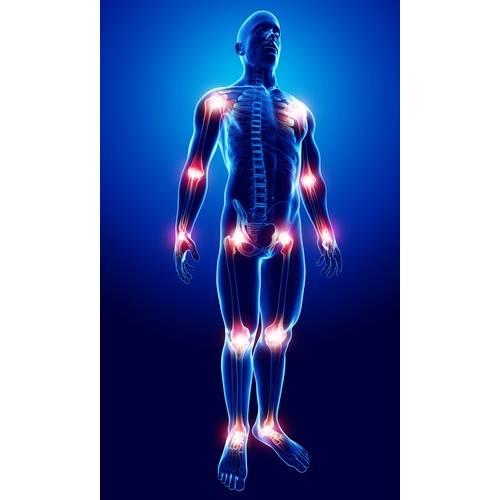 dă clic pe articulația genunchiului și doare
