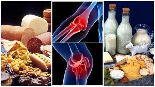 dureri articulare după mâncare tratament de hiperplazie a țesutului conjunctiv