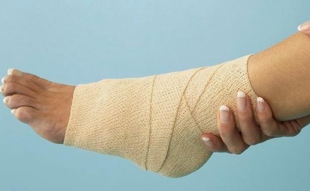 Cum să înfășurați o gleznă cu un bandaj ACE