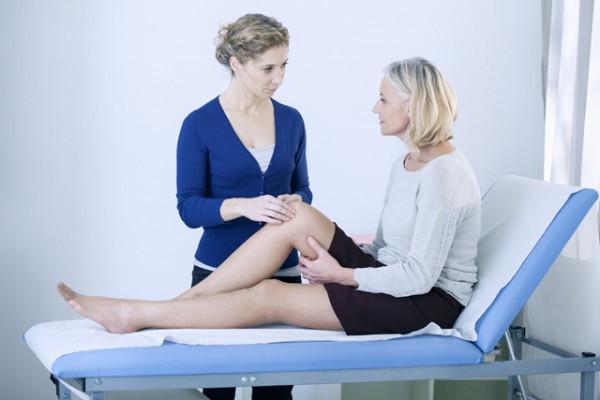 Tratamentul edemului genunchiului cu artroză