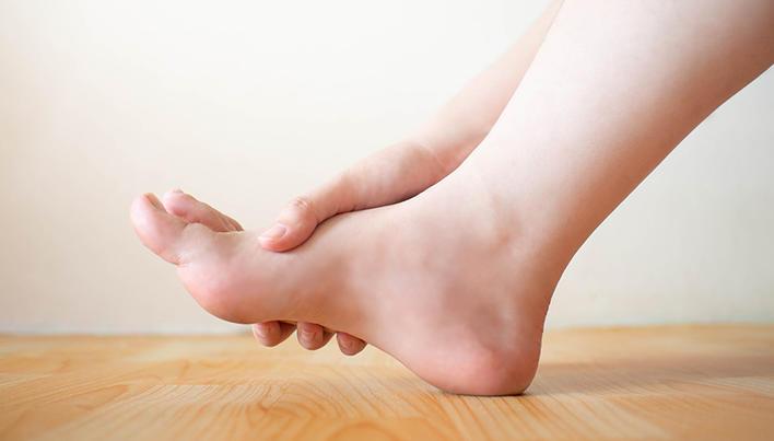 artroza gutoasă a gleznei
