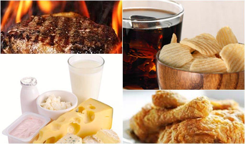 ce alimente sunt dăunătoare în bolile articulare artrita și artroza articulației gleznei