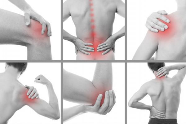 durere în articulațiile încheieturii atunci când este exercitat