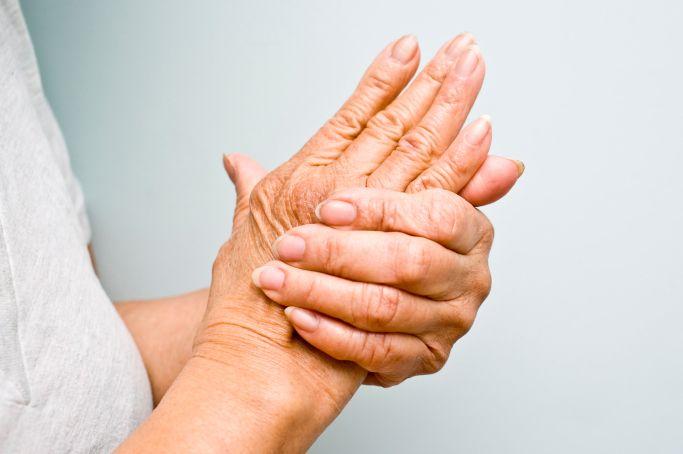inflamația articulară în palmă