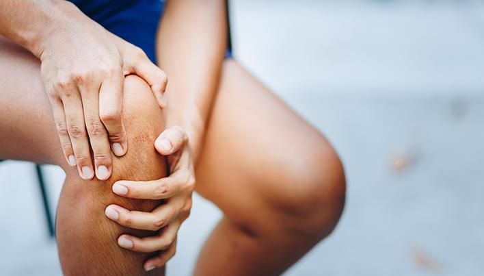 În loc de anti-inflamator în articulația genunchi