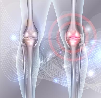 șoldul și genunchiul rănit la mers