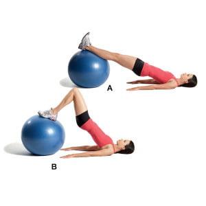 Exerciții de fitball pentru dureri articulare - Exerciții cu fitball pentru artroză