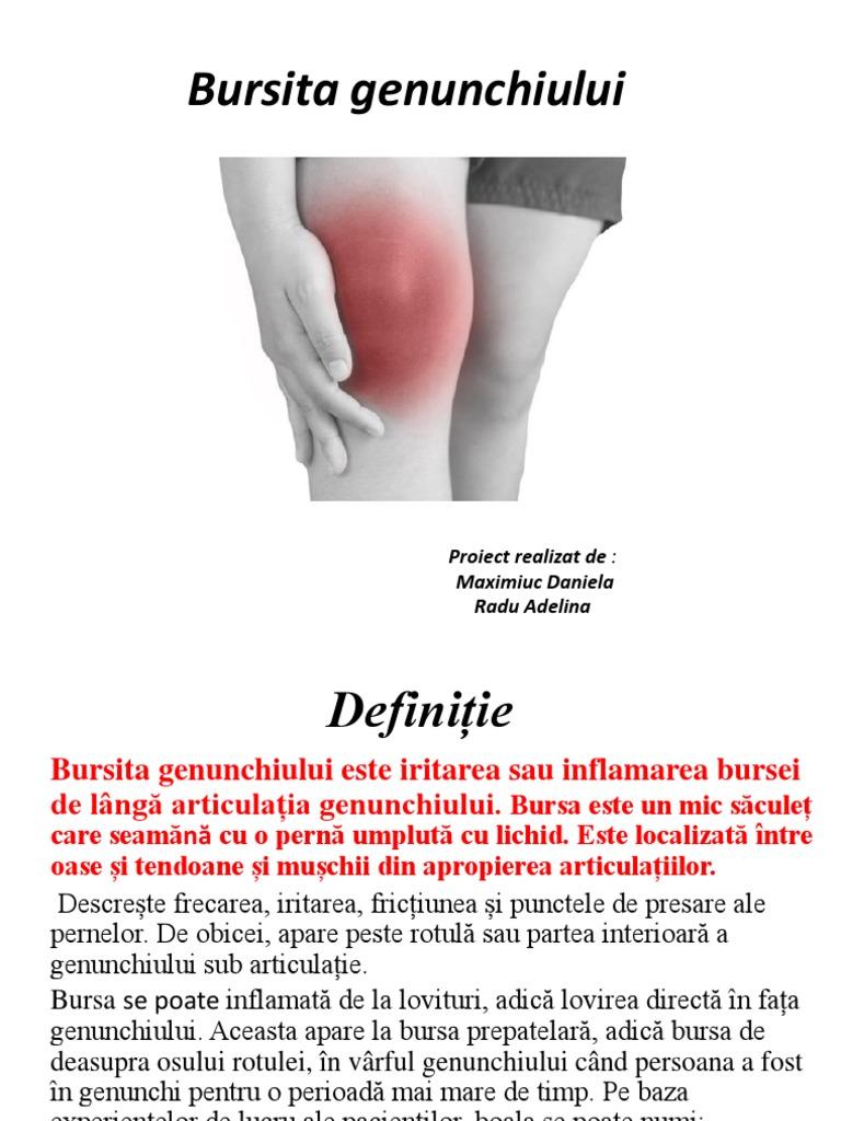 bursită anserină a simptomelor și tratamentului genunchiului