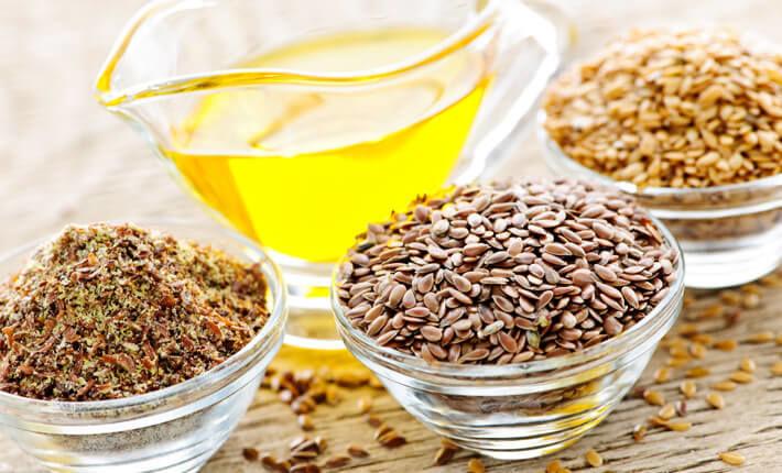 Tratament comun cu semințe de in