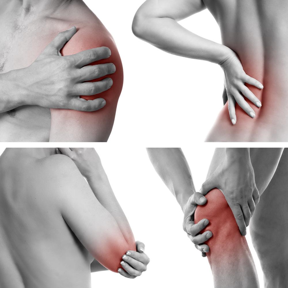 articulațiile genunchilor și coatelor sunt foarte dureroase